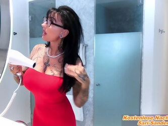 German big tits tattoo femdom milf masturbate until orgasm