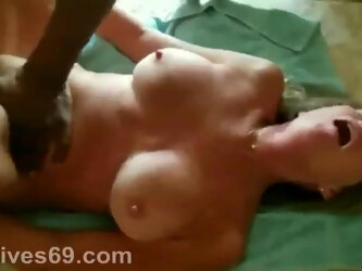 Hotwife Has Her Pussy Punished By A BBC