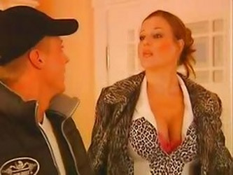 Busty German Mature Seduce Young...