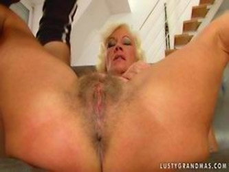 Lusty Granny Anal