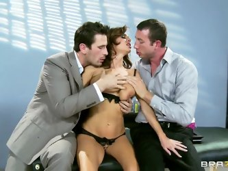 Great gangbang with Jordan Ash,Manuel Ferrara and Veronica Avluv, girls being banged in a fucking hardcore style with truly impure force like never be