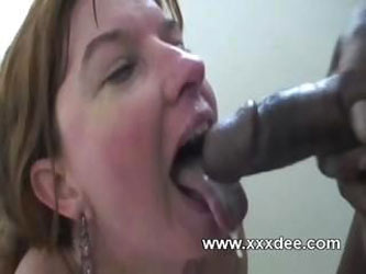 Aged wife loves black cock