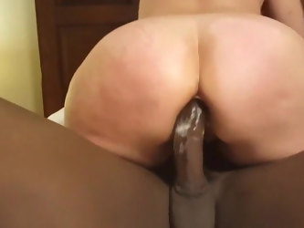Mature Wife First Time Riding BBC In Her Tight Ass