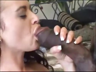 Wife cheating with huge black cock