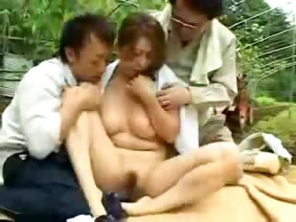 Asian Village Woman Gets Abused