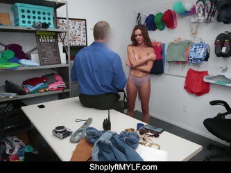Hot MILF Aila Donovan Gets Fucked Doggy by Security Guard