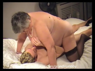 80 year old Grandma Libby seduces young lad