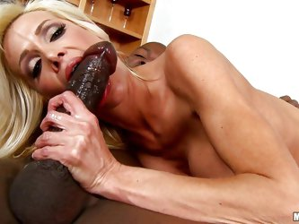 Mikky is a fucking hot milf and she is already naked. This bitch always finds an opportunity to be drilled by a huge dick. Here she is living her drea