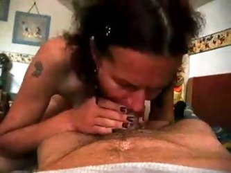 Ugly but skilful mature woman cheats on her husband. She sucks my cock and jerks it till she receives some hot shots in her mouth, while I`m filming e