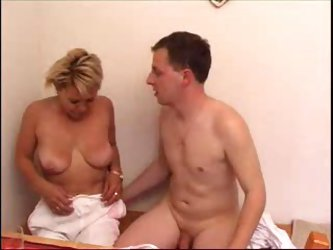 Mature makes his cock feel great