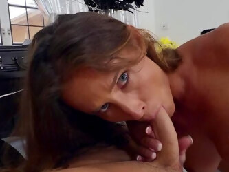Classy woman sure wants a piece of her daughter's boyfriend's cock