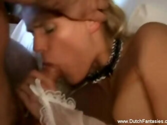 Exploring Her Dutch Side Fantasy While Licking Pussy