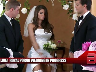 It's Madelyn's big day! The Royal Princess of Porn is getting married to Ramon, the Royal Prince of Porn. Their union leads to a hot and har