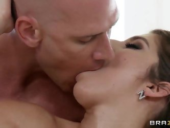Karina White goes for a cup of tea to her neighbour, and what she will get? She will get huge cock in her cunt! What a great day for a truly outstandi