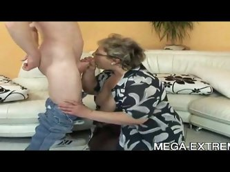 Old and fat granny fucked