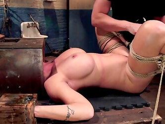See Shay Fox as you've never seen her before during hot power switch