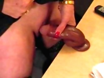 Pervert Granny With Big Clit Pla...