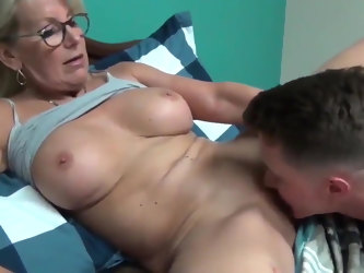 Sexy MILF with BOY