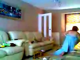 Watch Mom And Dad Home Alone Having Fun. Hidden Cam