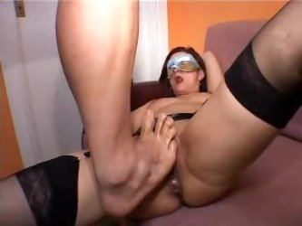 Italian MILF Fisted and Creampie