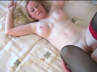 Filming MILF sucking my cock and fucking me
