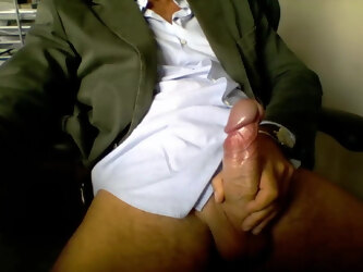 Gorgeous uncut daddy big cock