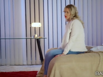 Romantic fucking at home with anal loving blondie Nikky Dream