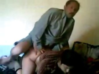 Horny amateur husband fucking his hot milf