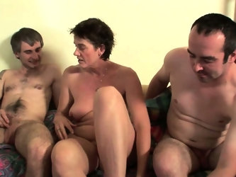 Highly sexed mom fucks all the guys