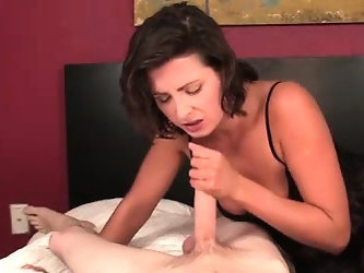 Helena Price is a perverted mom who loves young guys,